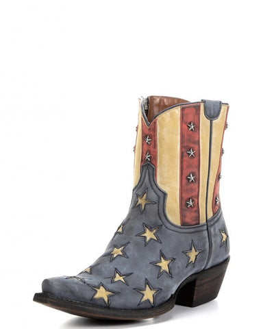 Colt Ford Old Glory Boot – Stonewashed Blue