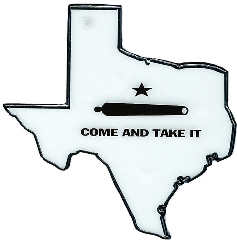 State of Texas Come and Get It Automobile Emblem
