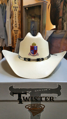 Corporate Event Custom Logo Cowboy Hat