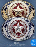 El Grande Giant Texas Rodeo Buckle