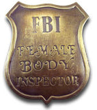 FBI Female Inspector Badge