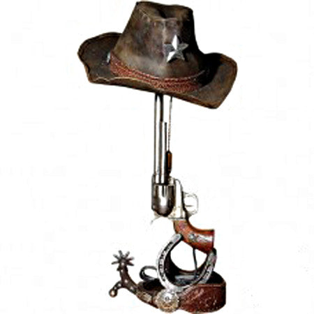 Gun Lamp with Hat