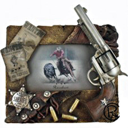 Gunfighter Picture Frame