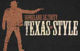 Homeland Security Texas Tee