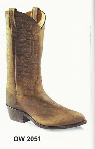Old West Men's Apache Cowboy Boots
