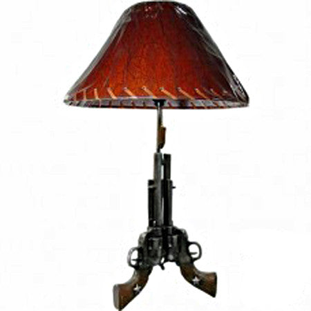 Old west Pistol Lamp