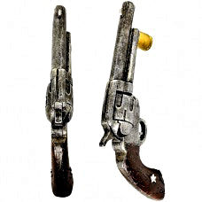 Old West Pistol Door Handles