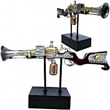 Old West Steampunk Shotgun Decor