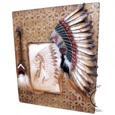 Native American Headdress Picture Frame