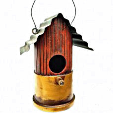 Shotgun Bird House