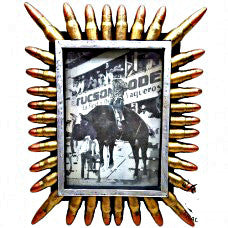 Gold Bullet Picture Frame