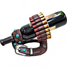 Bullet with Belt Wine Holder