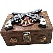 Old West Pistol Gift Box