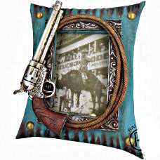 "Gun Picture Frame with Rope 8"" x10"""