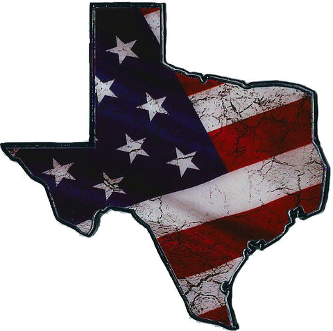 Texas USA Flag Automobile Emblem