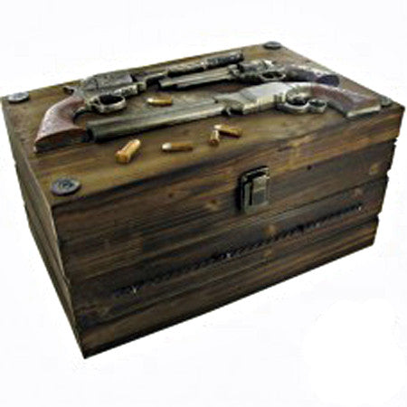 Gunfighter Wooden Box