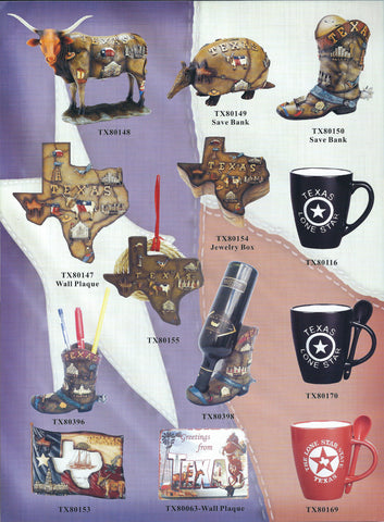 More Texas Ceramic Figurines