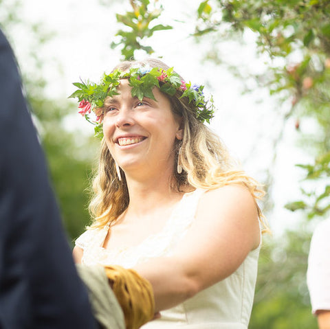 Glowing Skin for a Natural Garden Wedding