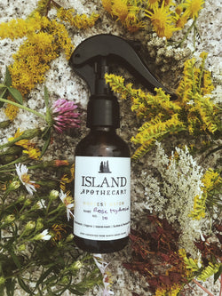 Organic Rose Hydrosol - Rosehips - Made in Maine - Island Apothecary
