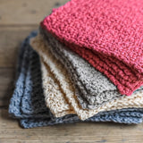 Cotton Handmade Face Cloths | Island Apothecary