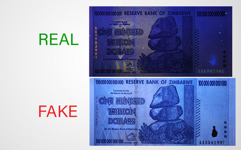 zimbabwe currency uv