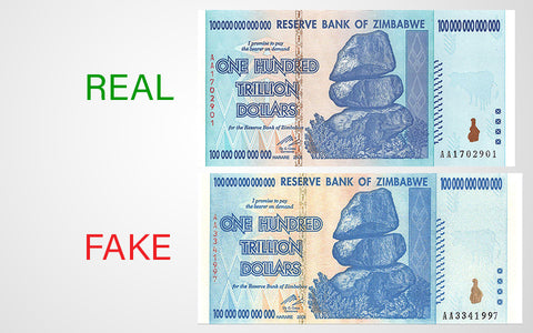 real zimbabwe currency