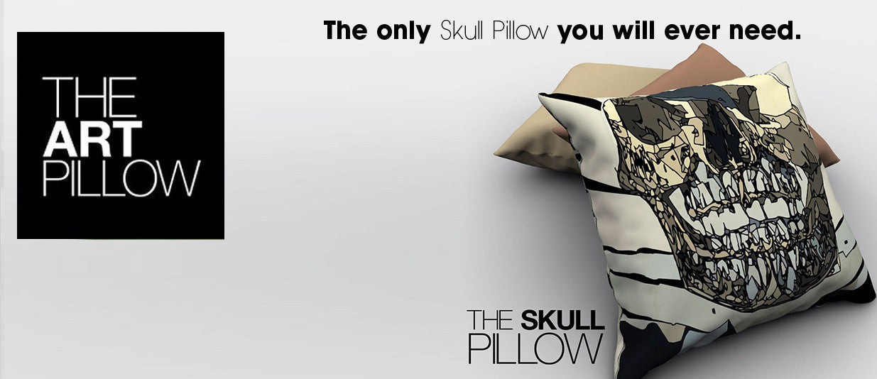 The Skull Pillow