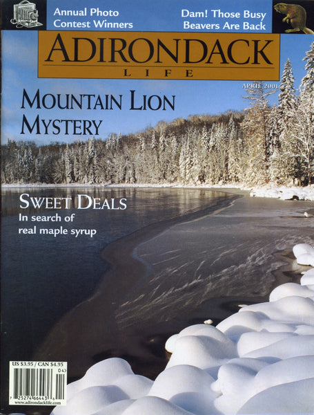 March/April 2001 issue - Mountain Lions