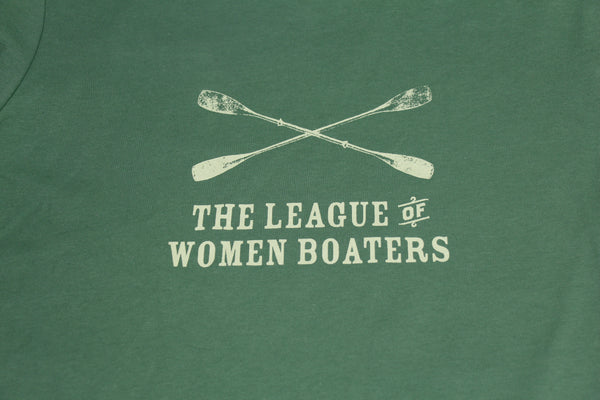 Leaf Green League of Women Boaters shirt