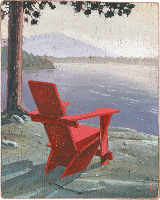 Adirondack Chair Icon Print