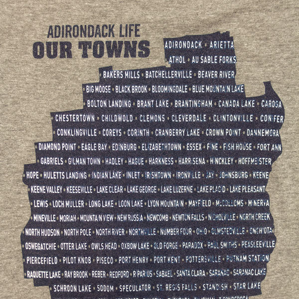 Our Towns Combo Book & T-Shirt