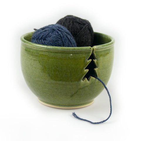 Sage Knitting Bowl