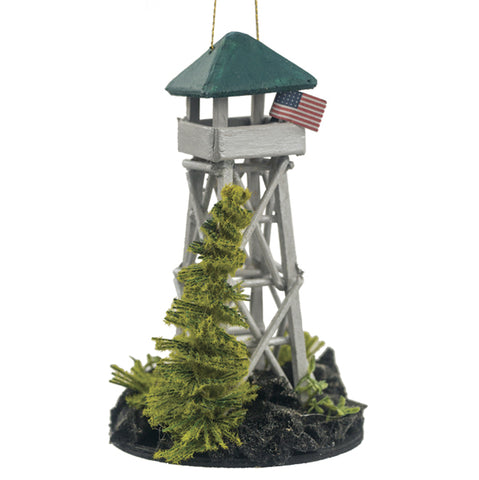 Fire Tower Ornament