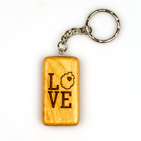 Adirondack Love Key Chain