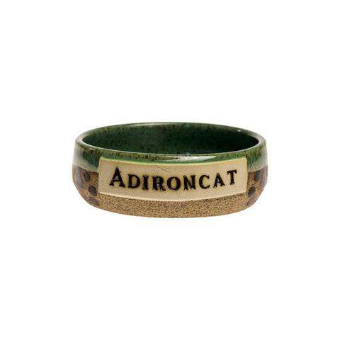 Lt. Green Adironcat Bowl