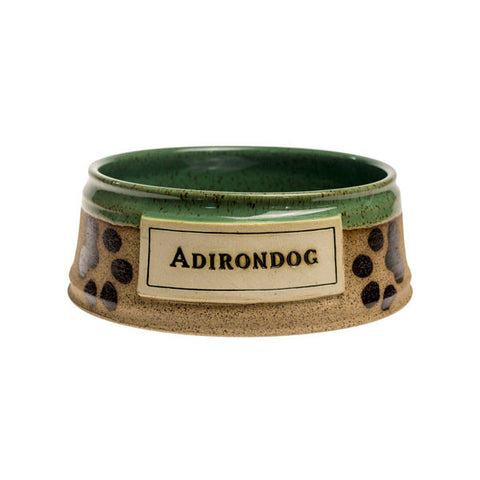 Adirondog Bowl - Lt. Green