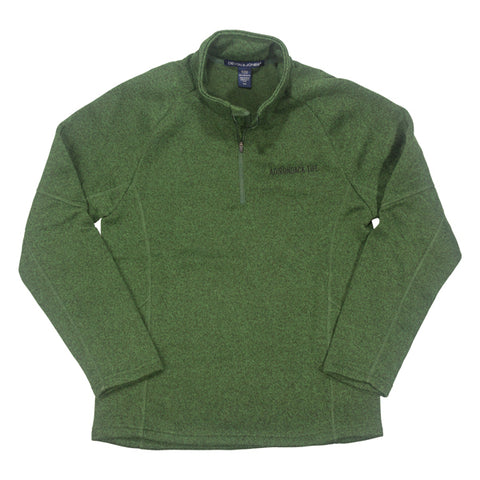 Forest Quarter Zip Fleece