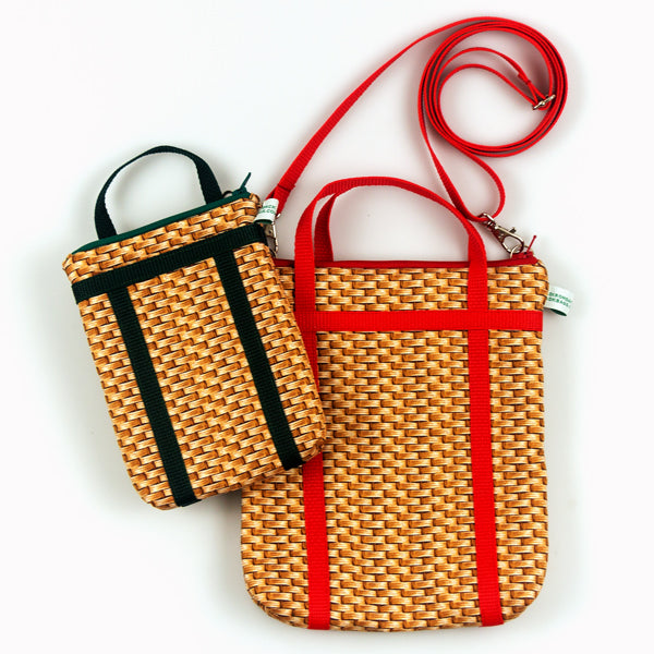 Medium Pack Basket Cross Body Bag