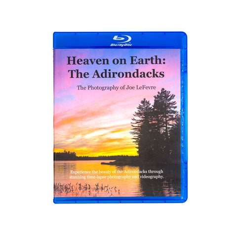 Heaven on Earth: The Adirondacks Blu-ray