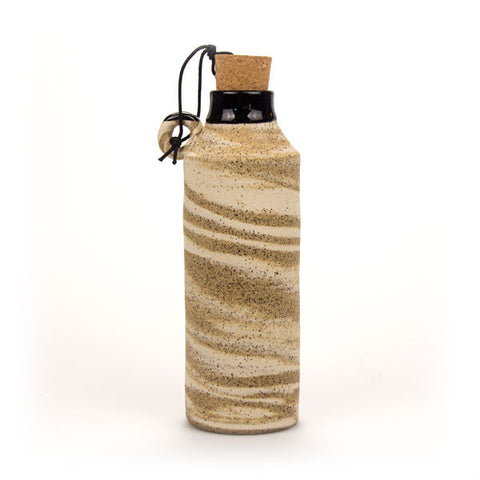 Pottery Beverage Bottle