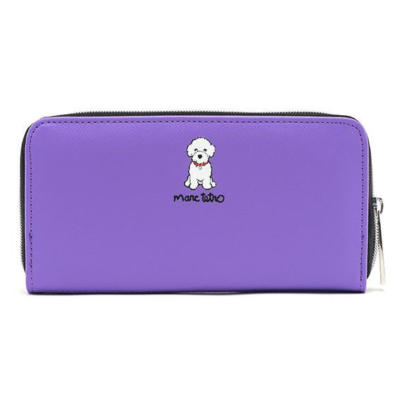 Bichon Zipper Wallet