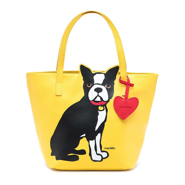 Boston Terrier Tote Bag with Dangle