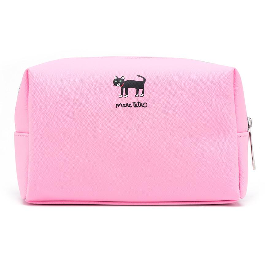 Cat Large Cosmetic Case