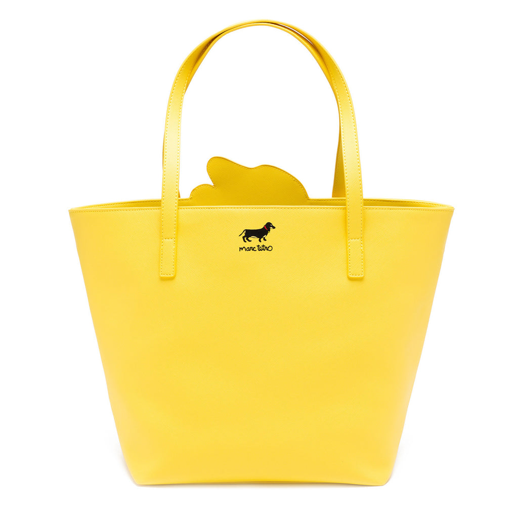Dachshund Tote Bag with Dangle