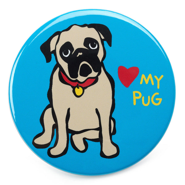 Love my Pug Magnet