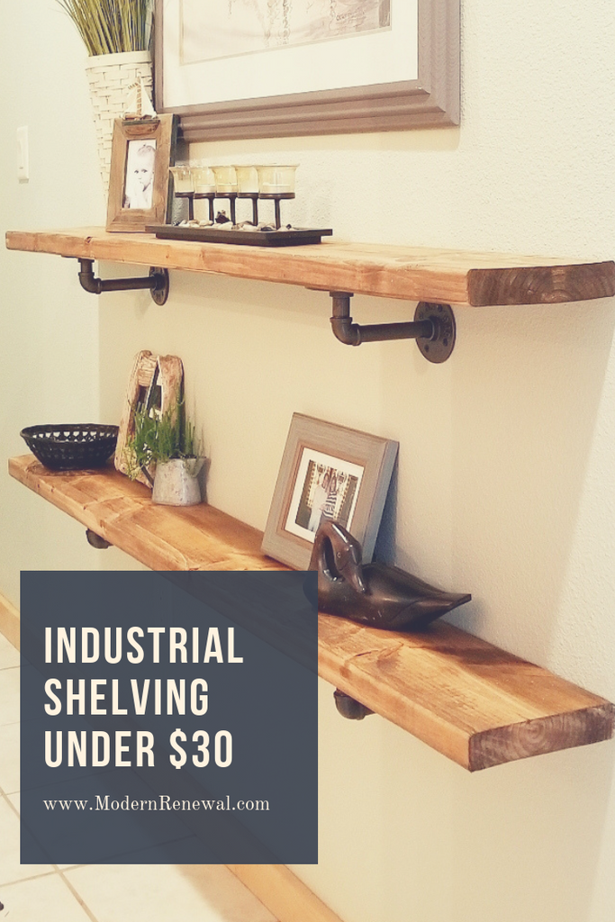INDUSTRIAL SHELVING FOR UNDER $30