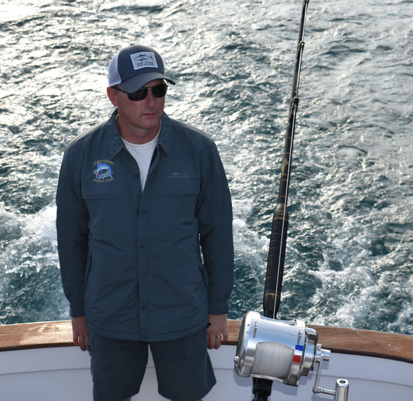 Hawaiian Billfish Series Grundens Dawn Patrol Jacket
