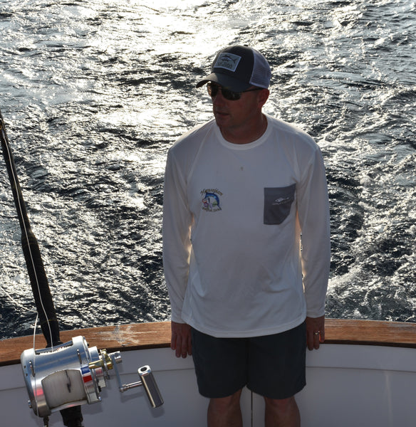 Hawaiian Open Grundens fishhead performance shirts