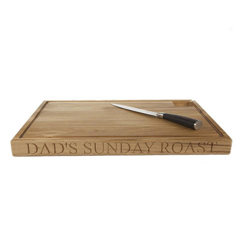 personalised carving board