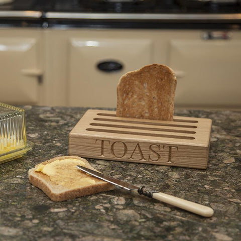 wooden toast racks